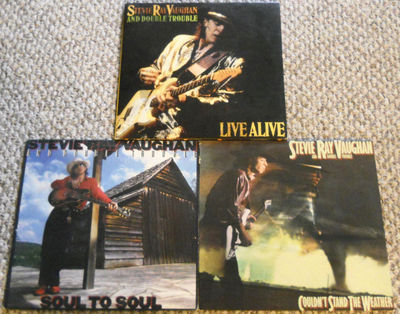 Gripsweat 3 Stevie Ray Vaughan Lp Live Alive Soul To