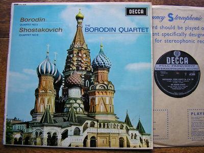 Gripsweat Sxl 6036 Shostakovich Quartet 8 Borodin