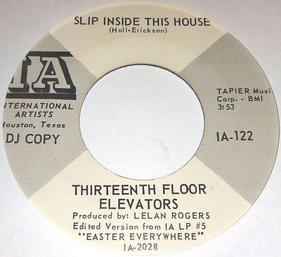 gripsweat garage 45 thirteenth floor elevators slip