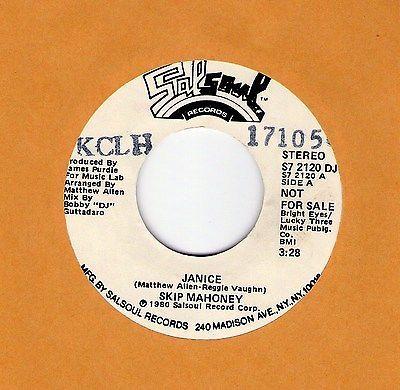 Gripsweat Classic 70 S Soul Hear Skip Mahoney Quot Janice