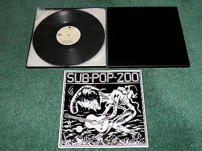 Sub Pop 200 Vinyl Sub Pop 200 3 lp Box Set