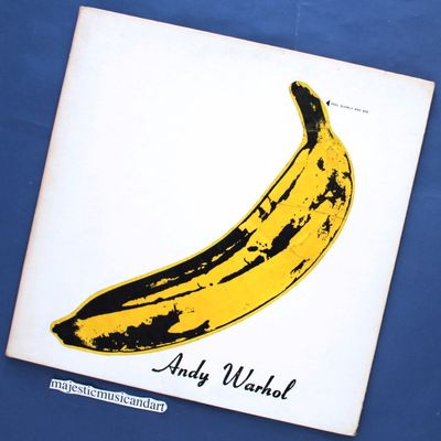 Gripsweat Original 1968 Andy Warhol Banana Cover The