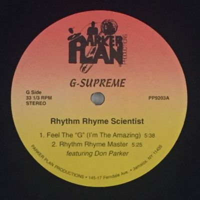 G-Supreme - Rhythm Rhyme Scientist